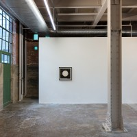 Exhibition view, Dancing on Graves, Steven Parrino. The Power Station, Dallas, TX. Courtesy of The Power Station.