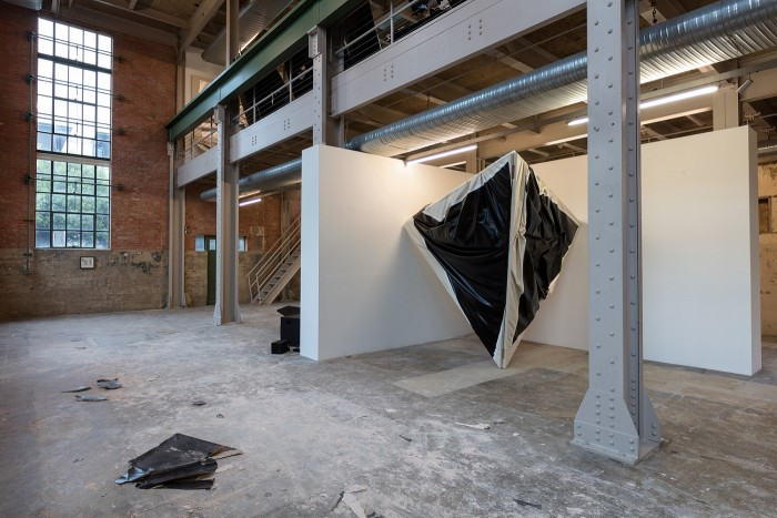Dancing on Graves: Steven Parrino at The Power Station, Dallas, Texas