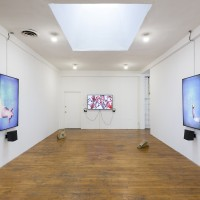 Installation view of Neha Choksi: Liberty Matter, 2017. Courtesy the artist and Commonwealth and Council. Photo: Ruben Diaz.