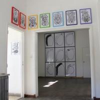 Vista de instalación, 2017. Cortesía de UV Estudios, Buenos Aires.