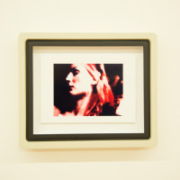 Luca Nino Antonucci, Imago: BR_FRAME_0:46:18, 2017. Color analog video print in custom frame, unique. 10 x 11.75 x 2 inches. Courtesy: City Limits