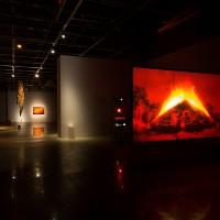 Nada levarei quando morrer, aqueles que me devem cobrarei no inferno, at Galpão VB. Installation view. Photo: Pedro Napolitano Prata. Courtesy of Associação Cultural Videobrasil