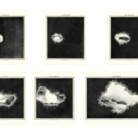 Elena Damiani, Geologic Lights, 2015. Serie de 6. Foto grabado sobre papel Hahnemühle. Museum 350 gsm.
