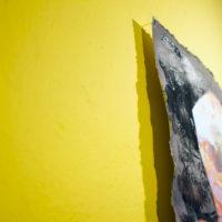 Detalle de pieza, Allan Villavicencio, Construir una grieta, Galería Libertad, 2017. Cortesía del artista.