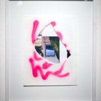 Construir una grieta, 2017, collage, 35.6 x 27.9 cm. Cortesía del artista.