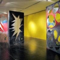 Vista de exposición, Allan Villavicencio, Construir una grieta, Galería Libertad, 2017. Cortesía del artista.