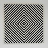 Sin Título, 2015. Óleo sobre madera. 80 x 80 cm. Cortesía de Sismo, Ciudad de México