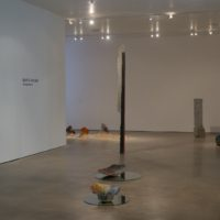 Installation view. Gwladys Alonzo, Bajo el volcán. guerrero-projects, 2017. Courtesy of the artist.