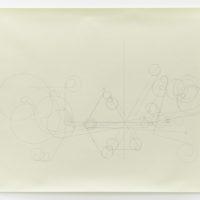 Francisco Larios, Time Borders, 2013. Stylus y lápiz en papel. 59 x 76.2 cm. Cortesía: El cuarto de máquinas. Fotografía: Sergio López