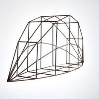 Francisco Larios, Sin título, 2017. Acero. 25 x 61 x 15.50 cm. Cortesía: Galería Hilario Galguera. Fotografía: Galería Hilario Galguera