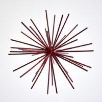 Francisco Larios, Sin título, 2017. Acero. 17 x 17 x 17 cm. Cortesía: Galería Hilario Galguera. Fotografía: Galería Hilario Galguera