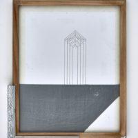 Francisco Larios, Sin título, 2017. Técnica mixta. 35 x 27 x 4 cm. Cortesía: Galería Hilario Galguera. Fotografía: Galería Hilario Galguera
