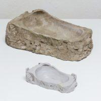Chemi Rosado-Seijo, Maquetas de bowl de la Perla, 2006, 2015. Foam, concrete, cardboard. Courtesy of Embajada, San Juan.