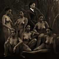 Ayana V Jackson, Diorama (2013), archival pigment print. Image courtesy of the artist and projects+ gallery.