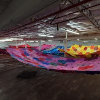 Pia Camil. Bara, Bara, Bara. Installation view at Dallas Contemporary, 2017. Photo: Kevin Todora. Courtesy of Dallas Contemporary