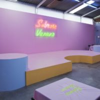 "Installation view. Radamés ""Juni"" Figueroa, Sabroso Veneno at Anonymous Gallery. Photography: Ramiro Chaves."