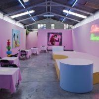 "Installation view. Radamés ""Juni"" Figueroa, Sabroso Veneno at Anonymous Gallery, 2017. Photography: Ramiro Chaves."