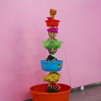 "Radamés ""Juni"" Figueroa and Hector Madera, Sabroso, Sensual, Calientito, Venenoso , mixed-media sculpture, 2017. Photography: Ramiro Chaves."
