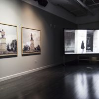 A Decolonial Atlas: Strategies in Contemporary Art of the Americas (installation shot), 2017. Photograph by Monica Orozco. Courtesy of the Vincent Price Art Museum, Los Angeles.