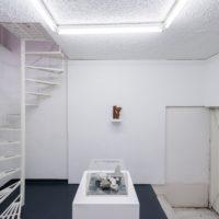 Installation view. Miguel Ángel Salazar, Prologue: Digital Cenotaphs, 2017. Bronze fillmaent hand finished 3D print. Photo by Juan Pablo de la Vega. Image courtesy of Galería Mascota and the artist.