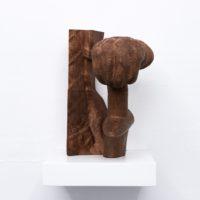 Miguel Ángel Salazar, King Uthal (VI), 2017. 27 x 19.5 x 20 cm. Bronze fillmaent hand finished 3D print. Photo by Juan Pablo de la Vega. Image courtesy of Galería Mascota and the artist.