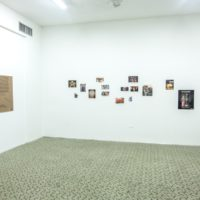 Vista de instalación. Colección Poyón, 2017. Cortesía de El Lobi.