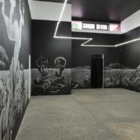 Heriberto Anaya, Un abismo de luz, 2017. Imagen cortesía de Gamma Galería.