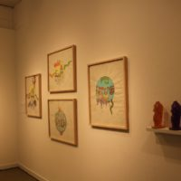Installation view. Courtesy of Galería de la Raza.