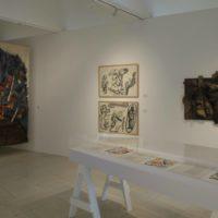 Vista de instalación. Zugzwang, en Museo de Arte Raúl Anguiano. Cortesía: Colección Ashida Cueto. Foto: Carlos Díaz Corona