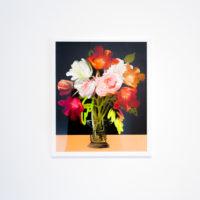 "Talia Shulze, Bouquet, 2017. C print, framed. 24 x 20""."
