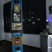 Vista de instalación. Hocohuoc, Refugio para raras, 2017. Imagen cortesía de UV Estudios. Foto: Juan Renau.
