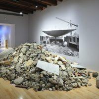 Eduardo Abaroa, Destrucción total del Museo de Antropología, 2017. Image courtesy of Museo Amparo, Puebla.