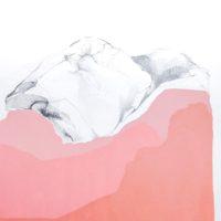 Adriana Rossel, Micro – pezado Cordillera Occidental, Central y Oriental (Detalle del triptíco), 2017. Grafito y acrílico sobre papel. 54 x 41.5 cm (c/u). Cortesía: SKETCH. Foto: Adriana Rossel ©