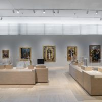 Installation photograph, A Universal History of Infamy, Los Angeles County Museum of Art, August 20, 2017–February 19, 2018, art © Michael Linares, photo © Museum Associates/LACMA