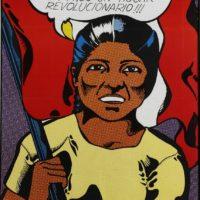 Jesús Ruiz Durand, Reforma Agraria, 1968-1973. Instalación de 15 afiches y 15 fotografías. 100 x 70 cm cada afiche. Cortesía de MALBA, Buenos Aires