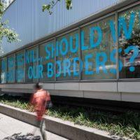 Tania Bruguera, Referendum, 2015–16. Installation view, Tania Bruguera: Talking to Power / Hablándole al Poder, Yerba Buena Center for the Arts, San Francisco, 2017. Courtesy Yerba Buena Center for the Arts. Photographs by Charlie Villyard.