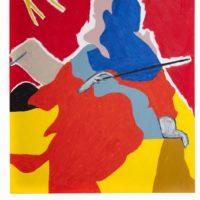 Samantha, 2017. Oil on canvas. 120 x 90 cm.