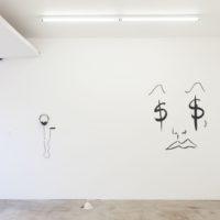 Installation view (Adriana Lara, Mariana Murcia, Cristina Tufiño). Image courtesy of Ruberta