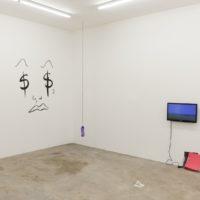 Installation view (Mariana Murcia, Cristina Tufiño, Diego Salvador Rios). Image courtesy of Ruberta