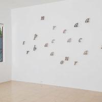 Jorge Méndez Blake, Dismantling Gorostiza, 2017. Installation view at 1301PE, Los Angeles. Photo: Chris Adler.