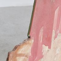 Detail, Gwladys Alonzo, Caillou Ciré II, 2017, Cera, mármol, 62 × 1135× 3 cm Cortes, Photo: Sergio López, Courtesy: El cuarto de máquinas.