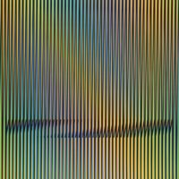 Carlos Cruz-Diez, Caura-1, 2015. Litografía. 60 x 70 cm. Edición 75. Cortesía Polígrafa Obra Gráfica
