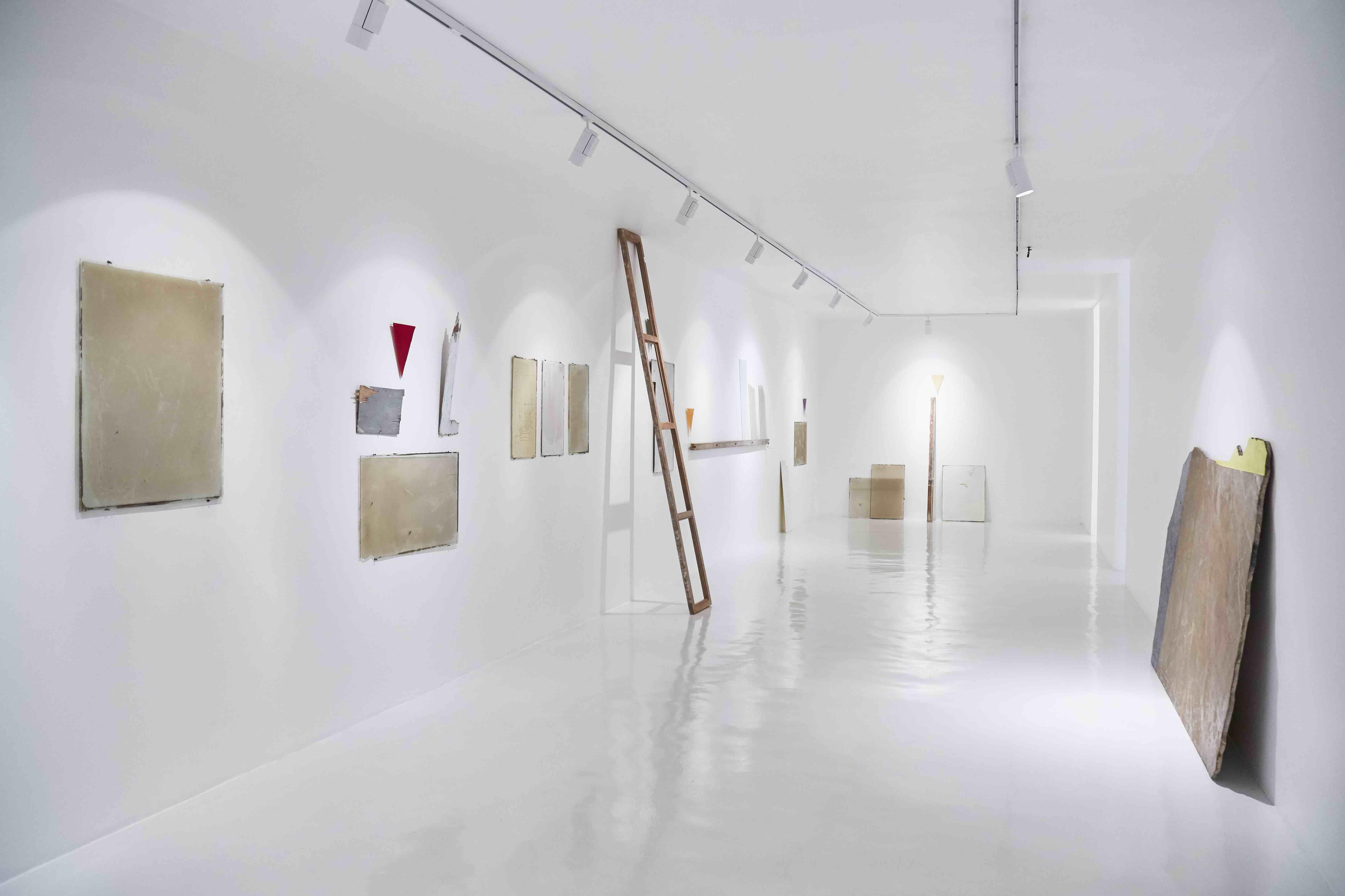 Athina Ioannou, Vista de instalación, 2017, Courtesy: Galería Hilario Galguera, Photo: Sergio López