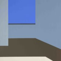 Leila Tschopp, Sin título, 2017, Acrilyc on canvas, 95 x 66 cm. Photos courtesy of the artists and HACHE Galería.