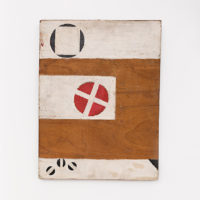Renato Celso, Untitled,c. 1975, Acrylic on wood, 45 x 34 x 3 cm / 17 3/4 x 13 3/8 x 1 1/8 in. © Mendes Wood DM Courtesy Mendes Wood DM Photo: Bruno Leão