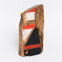 Renato Celso, Untitled, 1982, Acrylic on wood 33 x 16 x 8 cm / 13 x 6 1/4 x 3 1/8 in. Courtesy Mendes Wood DM. Photo: Bruno Leão