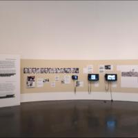 Forensic Architecture. Hacia una estética investigativa. Vista de la exposición en el Museo de Arte Contemporáneo de Barcelona, MACBA (28/04/2017 –15/10/2017). Fotografía por Miquel Coll. Imagen cortesía del Museo Universitario de Arte Contemporáneo (MUAC).