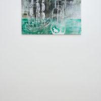 Lin May Saeed, Djamil Relief, 2017. Styrofoam, acrylic paint, cardboard, 56 x 80 x 5 cm. Image courtesy of Lulu.