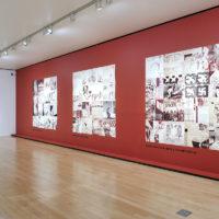 Vista de la exhibición Grupo Mira. Una contrahistoria de los sesenta en México, 2017. Imagen cortesía de Museo Amparo.