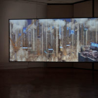 Exhibition view, Wide Open, 2017. Courtesy Pollock Gallery, Dallas